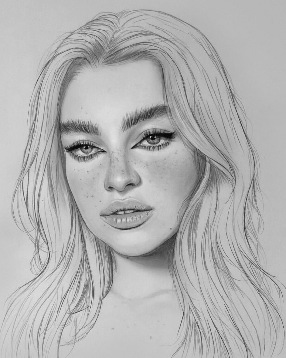 Fantastic Beautiful Portrait Sketches Techniques for Beginners Wip Of This Beautiful Portrait Drawing | Pencil Drawings In 2019 Pics