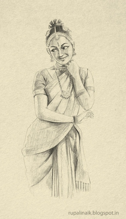 Fantastic Bharatanatyam Pencil Sketches Step by Step Pin By Maria Soulis On ஜ Beloved India ஜ In 2019 | Indian Drawing Pic