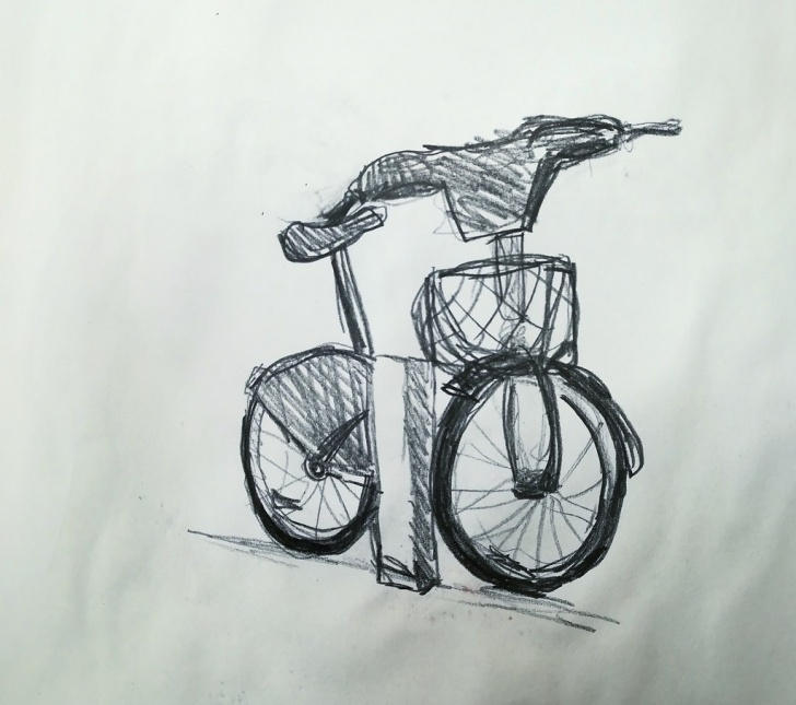 Fantastic Bicycle Pencil Drawing Step by Step The World's Best Photos Of Bicycle And Pencil - Flickr Hive Mind Photos