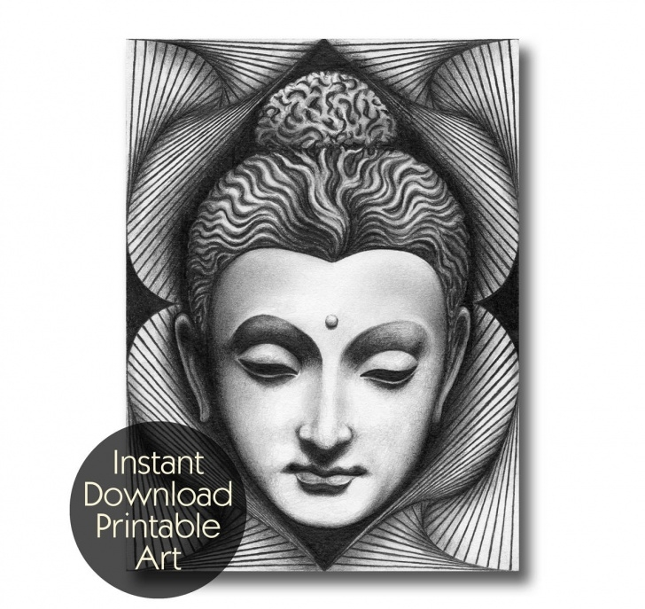 Fantastic Buddha Pencil Sketch Courses Gautam Buddha Sketch At Paintingvalley | Explore Collection Of Photo