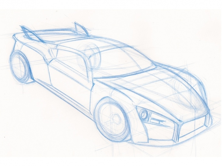 Fantastic Car Pencil Sketch Drawing for Beginners 9+ Top Car Pencil Sketch Drawing Photos - Sketch - Sketch Arts Picture