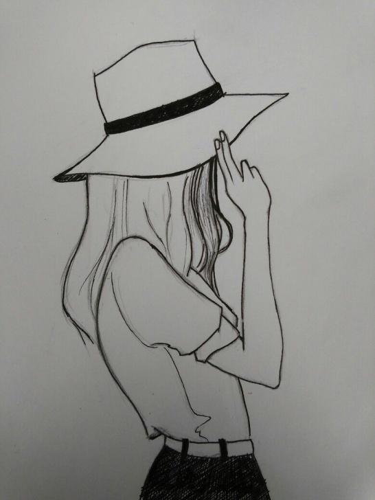 Fantastic Cool Drawings With Pencil for Beginners Xolgaix - Girl Drawing | My Drawings In 2019 | Pencil Art Drawings Pics