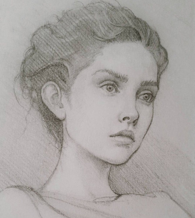 Fantastic Cool Portrait Drawings Free Different Styles Of Human Portrait Drawings In 2019   Awesome Images