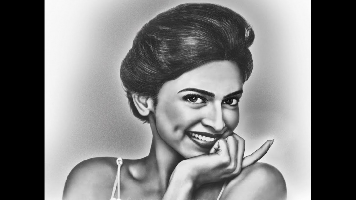 Fantastic Deepika Padukone Pencil Drawing Free Portrait Draw Of Deepika Padukone Pencil Sketch Photo