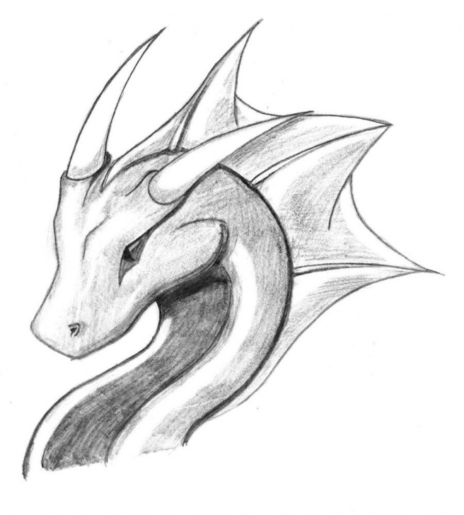Fantastic Dragon Drawings In Pencil Easy Tutorials Dragon Sketch | Dragon Sketch 4 By Ryu-Takeshi | Things To Draw In Pictures