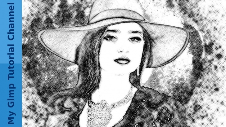 Fantastic Gimp Pencil Sketch Simple Pencil Sketch Effect - Gimp 2.9 Image