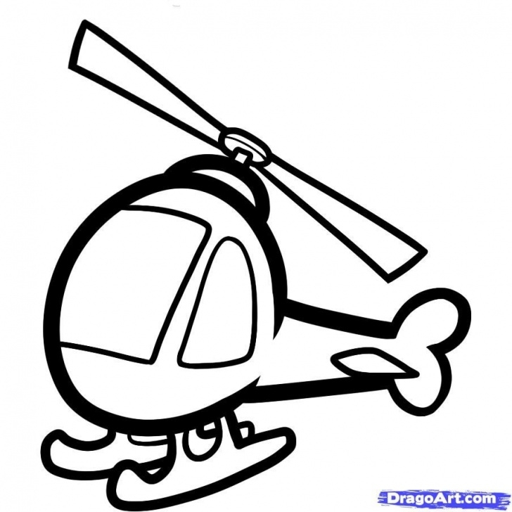 Fantastic Helicopter Pencil Drawing Tutorial How To Draw A Helicopter | Ss Transportation | Children Sketch Photos