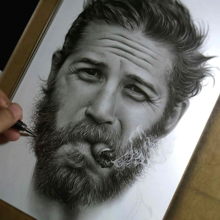Fantastic Incredible Pencil Drawings Tutorial Incredible Pencil Drawing Of Tom Hardy Rate 1-100 Follow @artsnewss Pictures
