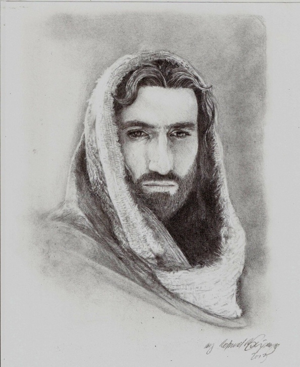 Fantastic Jesus Painter Pencil Drawings Step by Step Passion Of The Christ In Pencil | Passion Of Christ Jesus Christ By Photos