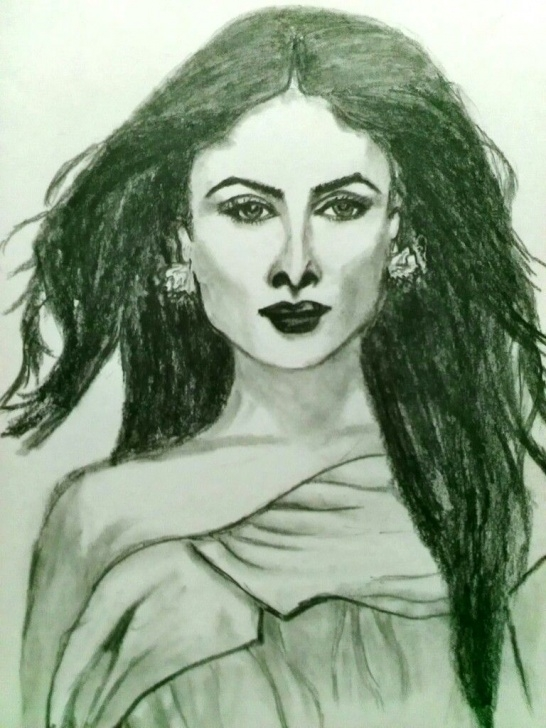 Fantastic Kareena Kapoor Sketch Courses Kareena Kapoor | Sketches | Pencil Art, Sketches, Pencil Images
