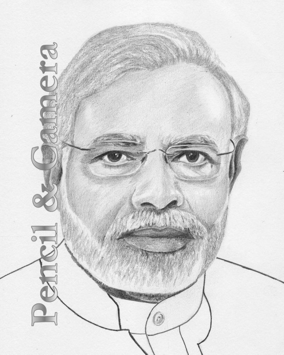Fantastic Narendra Modi Pencil Sketch Tutorials Narendra Modi Photos