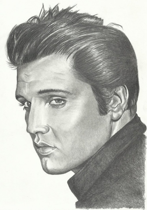 Fantastic Pencil Drawing Of Elvis Presley Lessons Pencil Drawings: Elvis Presley Pencil Drawings Pictures
