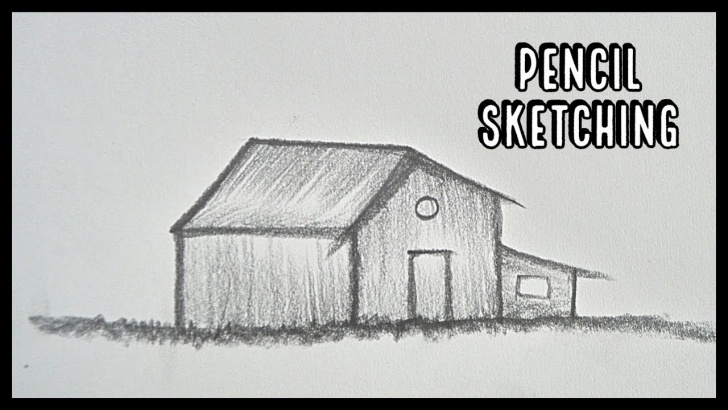 Fantastic Pencil Drawing Of Hut Ideas How To Draw Hut || Pencil Shading || Pencil Sketching || Step By Step Pictures
