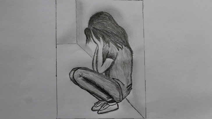 Pencil Drawings Of Loneliness