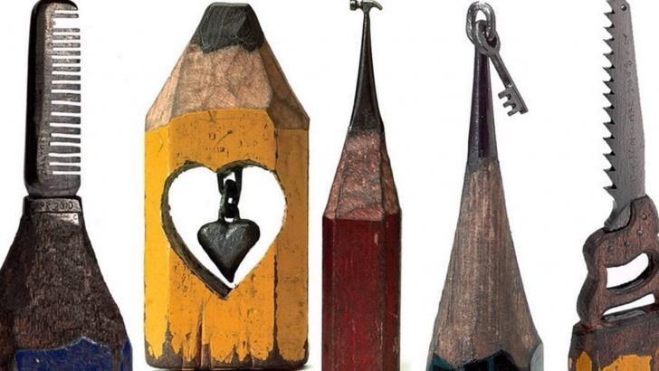 Fantastic Pencil Lead Art Free Dalton Ghetti - Sculpture Carved Into Pencil Lead Pictures