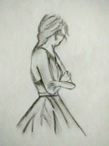 Fantastic Pencil Sketches Of Sad Girl Free Sad Girl Pencil Sketch | Pencil Sketches In 2019 | Pencil Drawings Photo