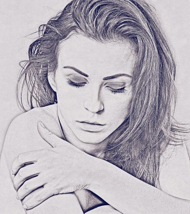 Fantastic Realistic Pencil Sketch for Beginners Realistic Pencil Sketch Photoshop Action Photo