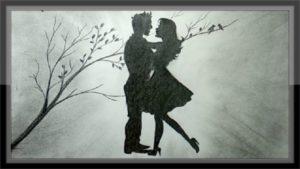 Fantastic Romantic Pencil Drawings Tutorial Pencil Drawing Romantic Scenery The Love Draw Step By Step Images
