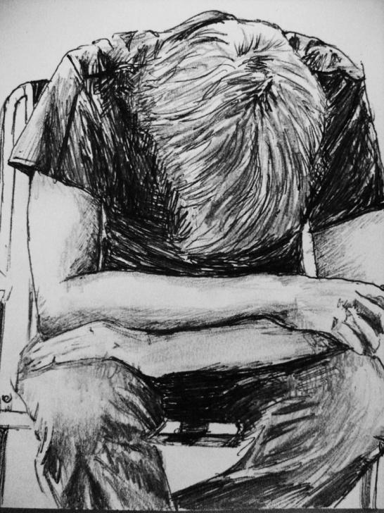 "Fantastic Sad Boy Pencil Sketch Simple A Sad Boy In Rain Pencil Art"" | Рисунок In 2019 | Sad Sketches Images"