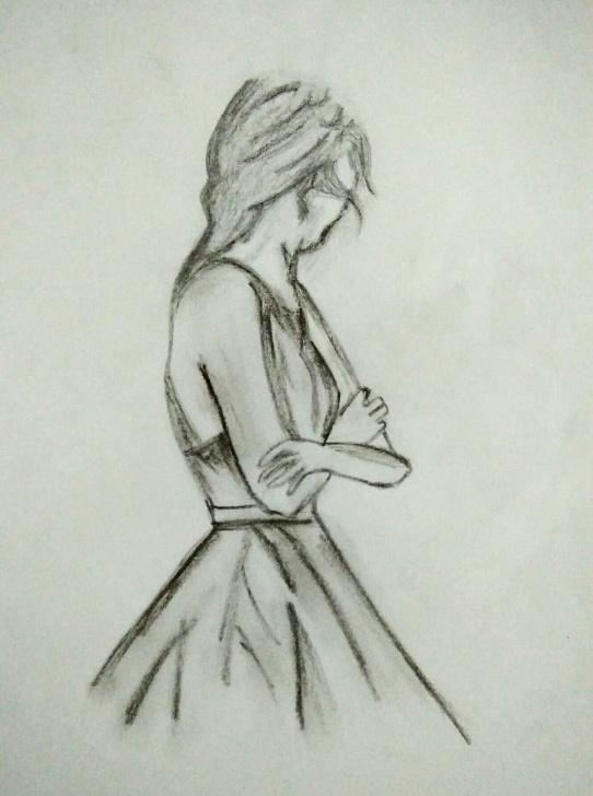 Fantastic Sad Pencil Sketch Courses Sad Girl Pencil Sketch | Pencil Sketches In 2019 | Pencil Drawings Pics