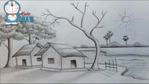 Fantastic Simple Pencil Sketches Of Nature Tutorial Pencil Sketches Of Nature At Paintingvalley | Explore Collection Photo