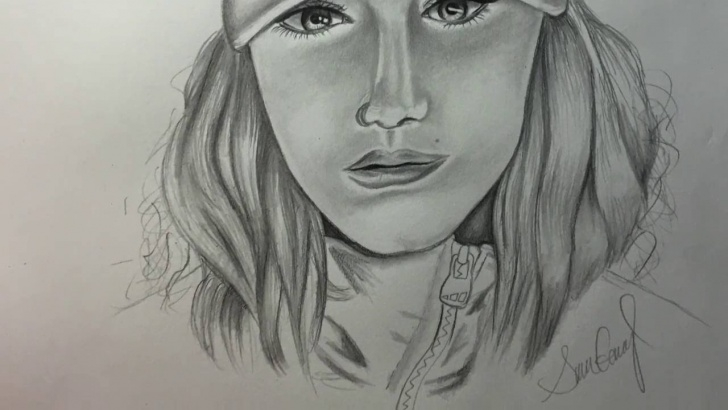Fantastic Simple Portrait Drawing Lessons Simple Portrait Drawing Pics