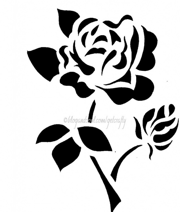 Fantastic Simple Stencil Art Free Free Simple Flower Designs, Download Free Clip Art, Free Clip Art On Image