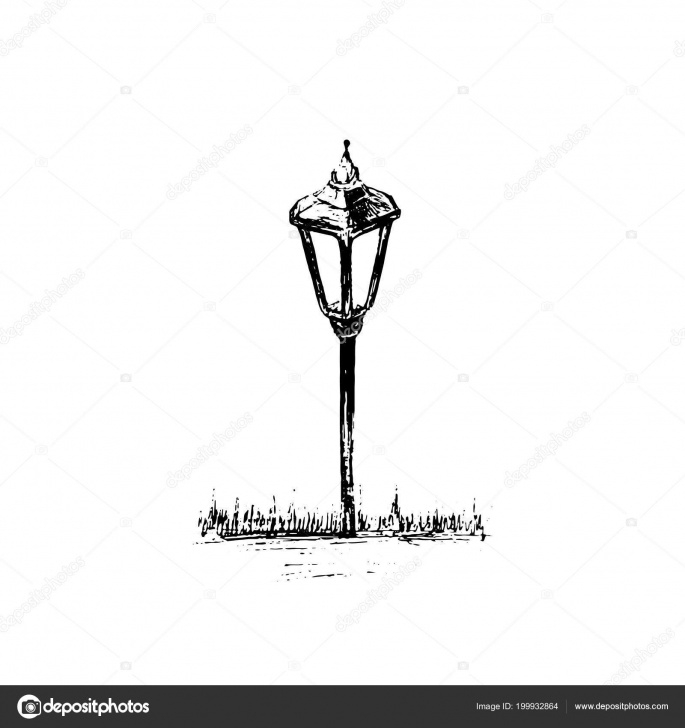 Fantastic Small Pencil Sketches Techniques Small Garden Light Solar Powered Lamp Drawing Pencil Sketch Lantern Photos