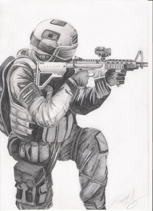 Fantastic Soldier Pencil Drawing Lessons Soldier Drawing, Pencil, Sketch, Colorful, Realistic Art Images Pics