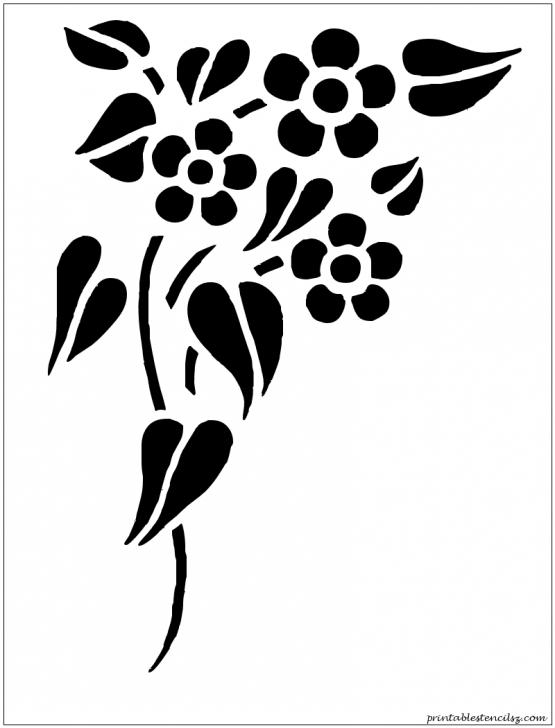 Fantastic Stencil Art Flowers Techniques Flowers Printable Stencils | Silhouettes | Stencil Patterns, Stencil Photos
