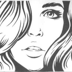 Fantastic Stencil Art Girl Tutorial Beautiful Girl By Shvepseg.deviantart On @deviantart | Stencils Photo
