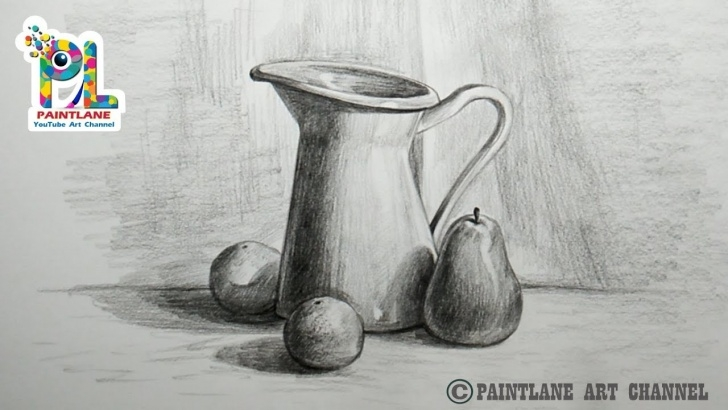 Fantastic Still Life Pencil Shading Courses How To Draw Still Life With Pencil | Pencil Art | Drawing | Shading Image