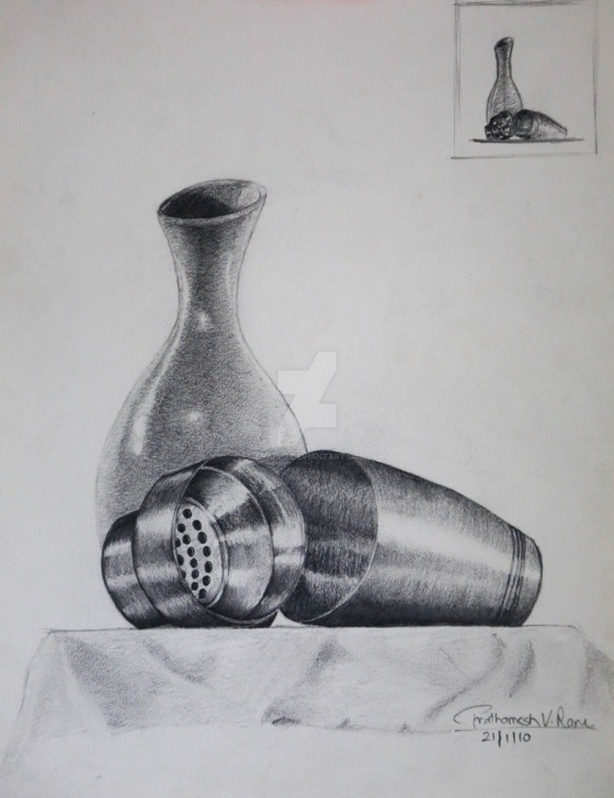 Fantastic Still Life Pencil Sketch Tutorial Still Life, Pencil Sketch By Spapps On Deviantart Pic
