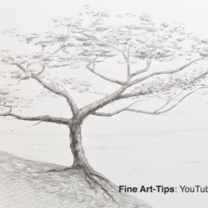 Fantastic Tree Pencil Sketch Tutorials How To Draw A Tree With Pencil Pictures