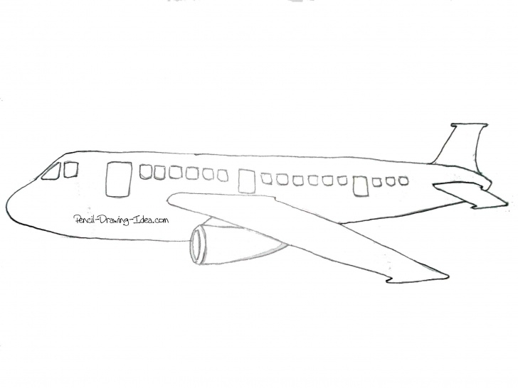 Fascinating Aeroplane Pencil Drawing Tutorials Airplane Pencil Sketches - The Best And Latest Aircraft 2018 Photos