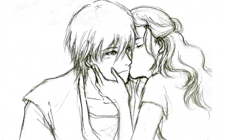 Fascinating Anime Couples Drawings In Pencil Easy Anime Couple Drawings In Pencil Pencil Drawing Of Couples Pics