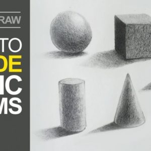Fascinating Basic Pencil Shading Lessons How To Shade Basic Forms - Pencil Tutorial Photo