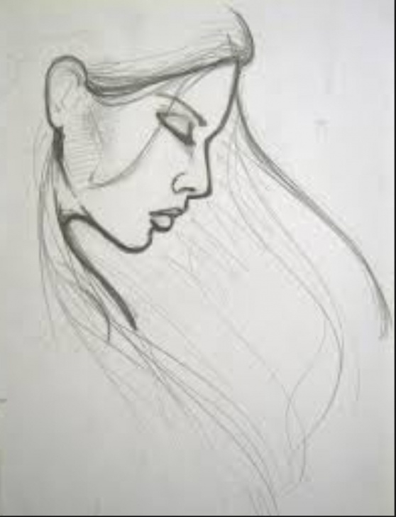 Fascinating Beautiful Simple Sketches Free Simple Sketch Drawing At Paintingvalley | Explore Collection Of Images