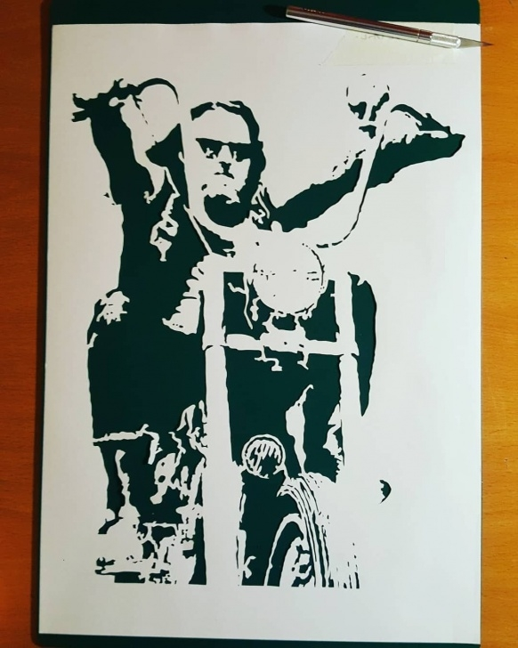 Fascinating Best Stencil Art Ideas New] The 10 Best Art (With Pictures) - Easy Rider One Layer Handcut Pictures