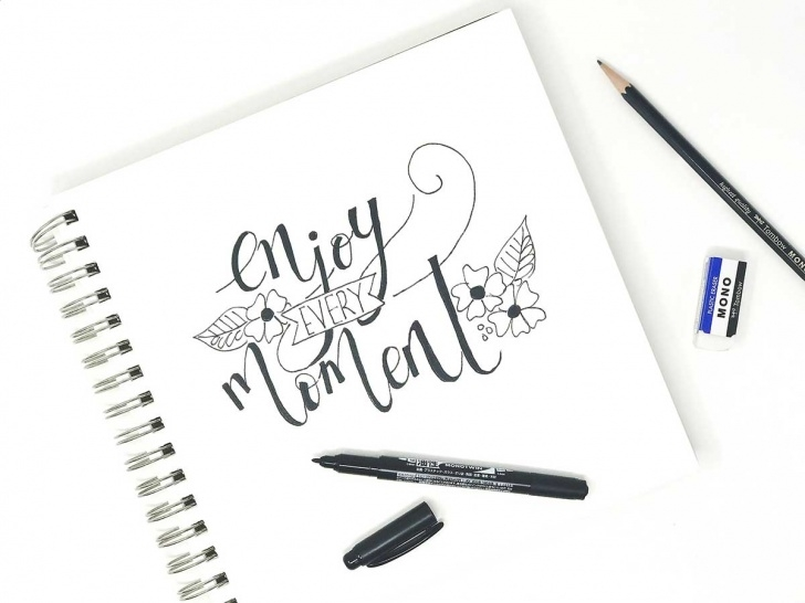 Fascinating Calligraphy Using Pencil Techniques for Beginners Using Your Pencil For Faux Calligraphy - Tombow Usa Blog Photo