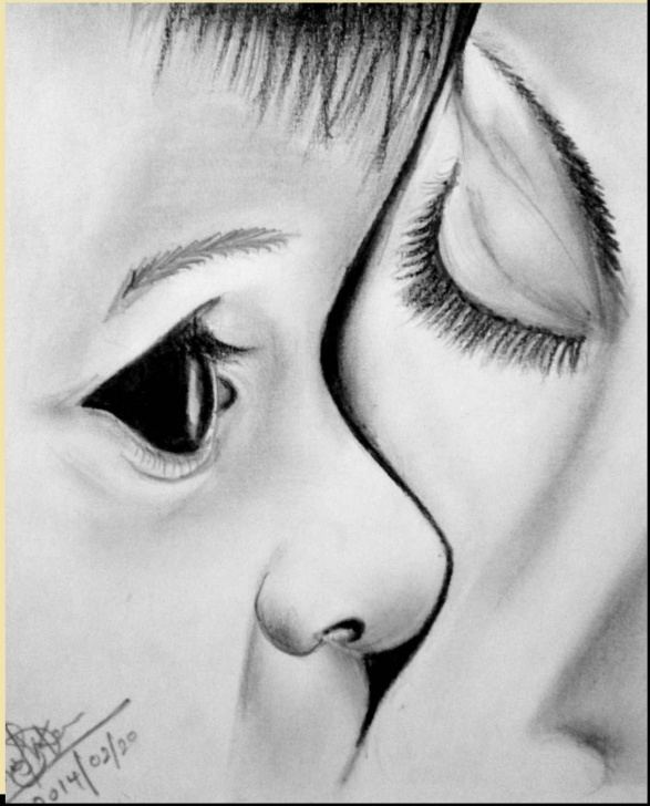 Fascinating Child Pencil Drawing Tutorial Mother And Child Sketch At Paintingvalley | Explore Collection Pic