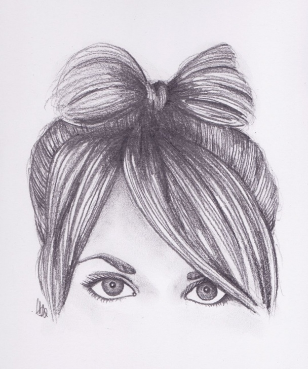 Fascinating Cute Girl Pencil Sketch Simple Cute Pencil Sketches At Paintingvalley | Explore Collection Of Pic