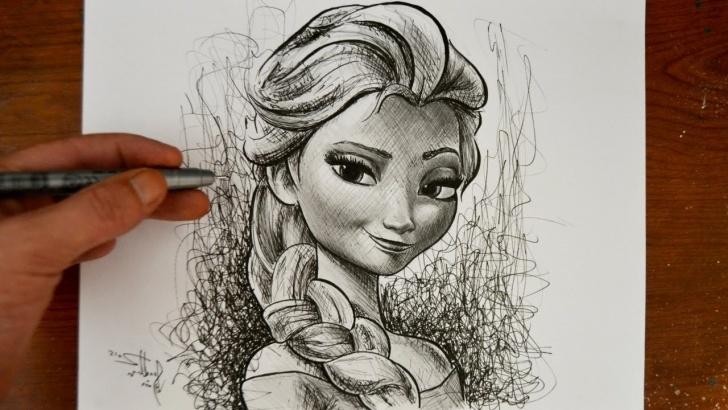 Fascinating Disney Princess Pencil Sketch Techniques for Beginners Princess Pencil Sketch At Paintingvalley | Explore Collection Of Image