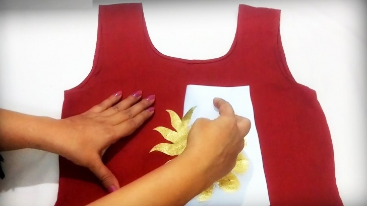 Fascinating Easy Stencil Painting for Beginners Diy : Stencil Painting | Easy Fabric Painting Ideas Picture