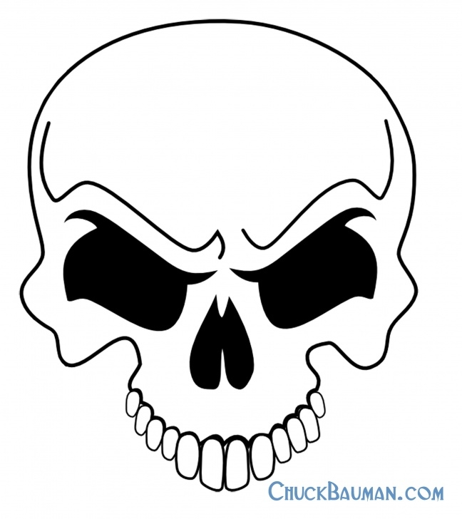 Fascinating Free Stencil Art for Beginners Skulls Airbrushing - Free Skull Airbrushing Stencils - Free Picture