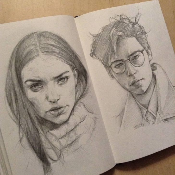 Fascinating Great Pencil Drawings Techniques for Beginners ? Great Pencil Sketches By @anaisgonzalez_3 | Sketchbook In 2019 Pic
