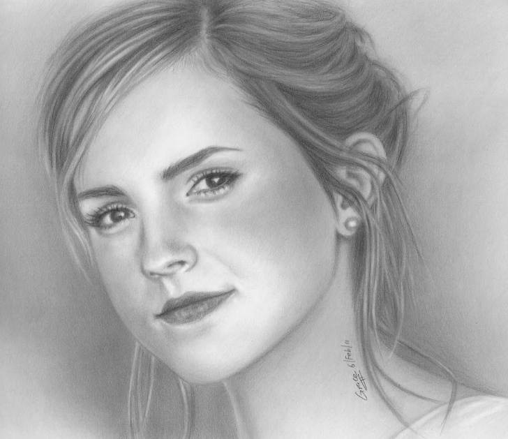 Fascinating Great Pencil Sketches For Female Tutorial Sketches Of Faces | Share Good Stuffs: Awesome Pencil Sketches Of Pic