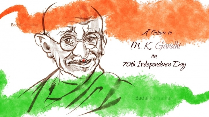 Fascinating Independence Day Pencil Sketch for Beginners Independence Day Sketch At Paintingvalley | Explore Collection Pic