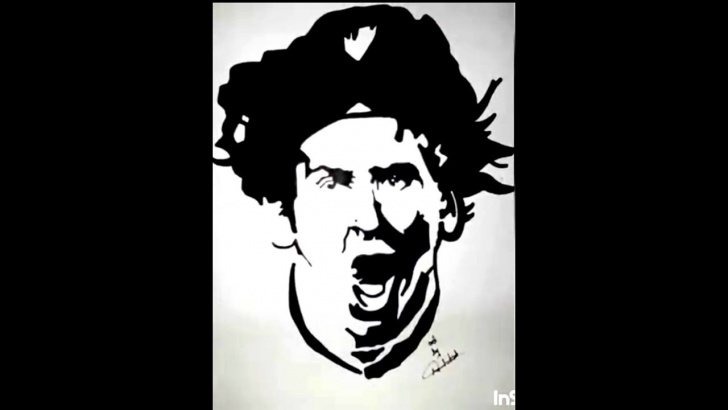 Fascinating Messi Stencil Art Techniques How To Draw Lionel Messi Stencil Art Photo