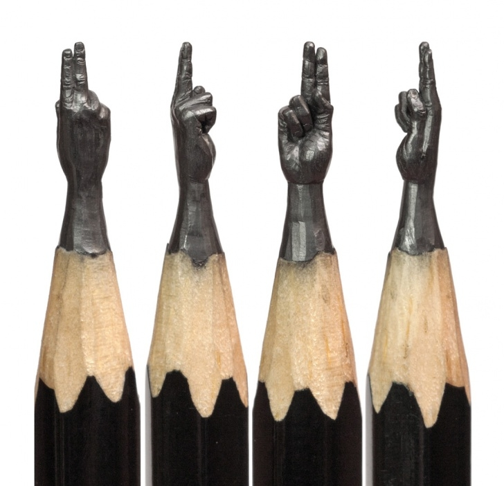 Fascinating Pencil Carving Step By Step Techniques for Beginners Delicate Pencil Lead Sculptures Carved By Salavat Fidai | Colossal Photos